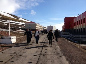 Barentsburg gata