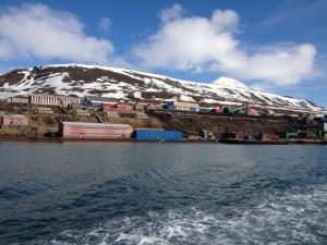 Barentsburg havna